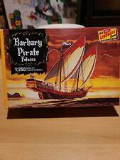 Barbary Pirate Felucca Ship Plastic Model Kit 1:250 New Lindberg Line New