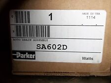 NEW IN BOX PARKER WATTS SA602D AUTO DRAIN ASSEMBLY (RR4)