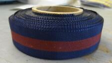 """DARK BLUE & MAROON MINI-MEDAL RIBBON STOCK - 12 """" REPLACEMENT PIECE  #RB114"""