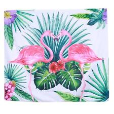 Flamingo Pattern Wall Hanging Mat Tapestry Plant Bedspread Throw Home Fresh B