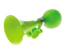 Bocina Trompeta Presion para Niño Niña Color Verde a Manillar de Bicicleta 3998v