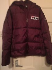 Fila Puffer Coat Jacket Limited Edition 80s Football Casuals Size Medium New