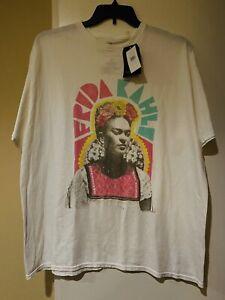 Junk Food Frida Kahlo Oversized Tee-Shirt Top NWT XL