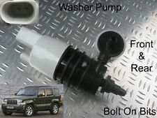 Front & Rear Windscreen Washer Pump Jeep Cherokee 2008 2009 2010 2.8 CRD Limited