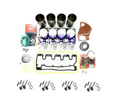 Isuzu 4LE1 Engine Rebuild kit for Hitachi JCB IHI Digger Generator and Truck etc