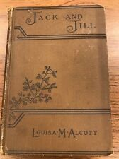1913~Jack and Jill~Louisa M. Alcott~victorian binding