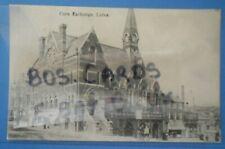 BOOTS CASH CHEMIST Postcard POSTED 1906 CORN EXCHANGE LUTON BEDFORDSHIRE