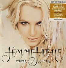 Britney Spears Femme Fatale GOLD VINYL Limited Edition Color LP Brand New Sealed