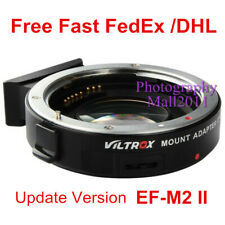 Viltrox EF-M2 II Auto Focus Adapter Speed Booster for Canon EF Lens to MFT M4/3
