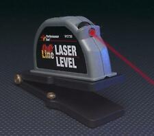 QUICK-LINE HANDS FREE LASER LEVEL w/MAGNETIC ADAPTER, NEW, SEALED IN PKG, W5739!