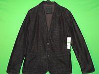 NWT Calvin Klein Jeans Women's Size L Large Black Button Front Coat / Jacket NEW