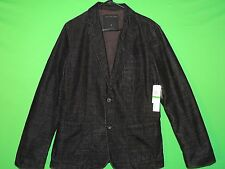 NWT Calvin Klein Jeans Women's Size L Large Black Button Front Coat / Jacket NEW
