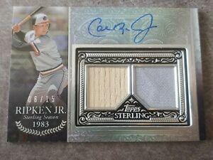 2021 Topps Sterling Cal Ripken Jr. On card AUTO 8/15! Baltimore Orioles!