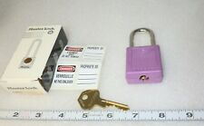 Color Coded Master Lock 410prp Zenex Lockout Tag Out Purple 1 34h