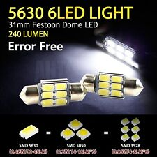 Error Free Festoon 31mm LED Canbus Dome Roof Interior Read Door Map Number Plate