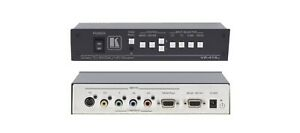KRAMER VP419XL DIGITAL SCALER VIDEO TO COMPUTER GRAPHIC VIDEO HDTV PROSCALER