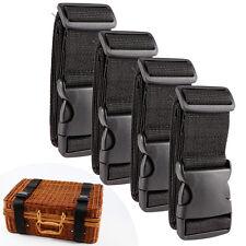 Correas para Equipaje Cinturones de la Maleta Accesorios de Viaje (Pack de 4pcs)