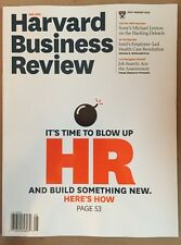 Harvard Business Review How To Blow Up HR Sony Hack Jul/Aug 2015 FREE SHIPPING!