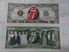 The ROLLING STONES Band 50th Anniversary ~*~ Cool $1,000,000 One Million Dollars