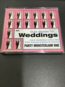 DMC DJs Guide To Weddings Party Monsterjam One 4 Disc Compilation