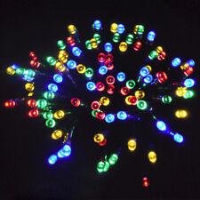 SEGURO Bajo Voltaje Multicolor Luces De Navidad 20M+10M 200 LED Exterior