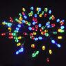 SAFE Low Voltage Multi Colour Christmas Fairy Lights 20M+10M 200 LED Outdoor