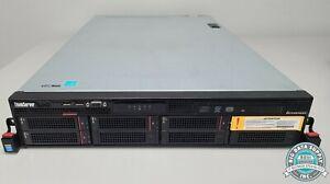 Lenovo, ThinkServer RD640 Server 8GB RAM Dual Xeon E5-2609 4TB, P/N 70AYCT01WW