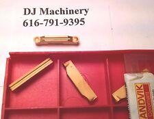 1 pc Sandvik Mill Grooving Cutter Carbide Inserts N123H2-0400-RM Grade 4025 TIN