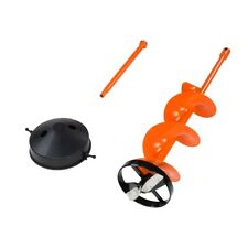 """8"""" Ice Auger With Extension and Blade Protector Trophy Strike 107299 1-5742"""