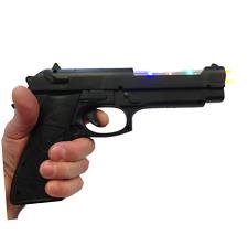 Bambini pistola giocattolo di plastica della polizia 9mm Giocattolo Set a batteria