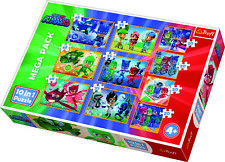 Trefl 10 In 1 20, 35 And 48 Piece Brave PJ Masks Crew Hero Floor Jigsaw Puzzle