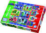 Trefl 10 In 1 20, 35 And 48 Piece Brave PJ Masks Crew Hero Floor Jigsaw Puzzle