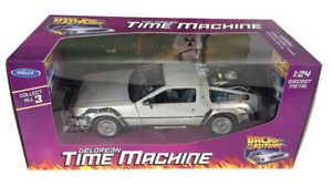 Welly DeLorean Ritorno al futuro Back to the Future Diecast Model 1/24 ´81