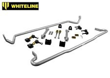 Whiteline Front & Rear Sway Roll Bar for Subaru Impreza WRX STI GV Sedan 2011-14