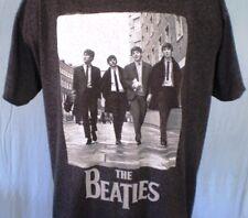 The Beatles Gray 2XL T-Shirt Beatles Walking Apple Corps LTD Cotton Blend