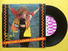 Toyah - Be Proud Be Loud (Be Heard) / Laughing With The Fools, Safari SAFE-52