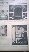 1930 3 Berlin Umbau Komische Oper / Sparkasse Herford