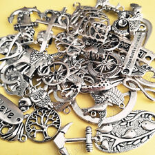 Antique Mixed Beads Charms Pendants Necklace Spacer beads Jewelry Making P928
