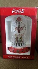 COCA COLA COKE DINER ANNIVERSARY CLOCK   NEW!!