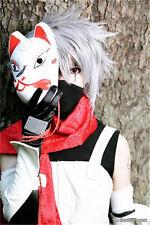 Hatake Kakashi cosplay wig silver wig+ Wig Cap