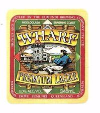 Australia - Beer Label - Eumundi Brewing Co. - Wharf Premium Lager