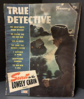 True Detective Magazine February 1944 True Crimes- Murder & Mystery Stories