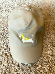 Janie and Jack Boys Puppy Baseball Cap Tan Size 2T 3T  NEW $27 VALUE