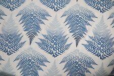 Harlequin Curtain Fabric Filix 3m Denim/indigo Clarissa Hulse Design 300cm