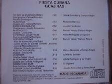 Fiesta Cubana guajiras Celina Gonzalez Abelardo Barroso ramon veloz El Jilguero