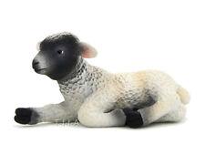 Free Shipping   Mojo Fun 387060 Black Faced Lamb Lying Replica - New in Package