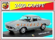 1/43 - Fiat Abarth Coupé 2400 Allemano - 1961 - Die-cast