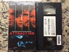 ATTRACTION RARE VHS IN SHRINK! HTF ON DVD! SAMANTHA MATHIS, GRETCHEN MOL!