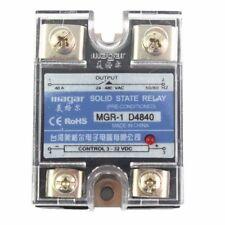Solid State Relay SSR-40A DA DC-AC input 3-32VDC output 24-480VAC Control