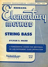 1937 Rubank, Elementary Method String Bass